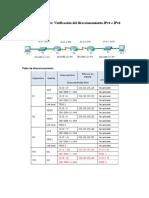 8325 Packet Tracer Verificación Del Direccionamiento IPv4 e IPv6