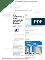 O Ar Condicionado e o Fim Anunciado Do Gás R22 – o Que Fazer _ Portal Da Refrigeração - Ar Condicionado
