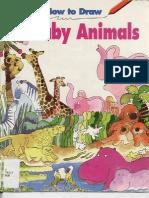 Como dibujar Animales bebes