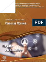 Lic en Contaduria Personas Morales