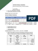 Metodo de Valuacion de Inventario
