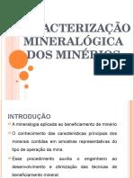 Caracterizacao Mineralogica de Minerios