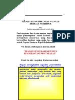 Strategi Pengembangan Wilayah Berbasis Agribisnis