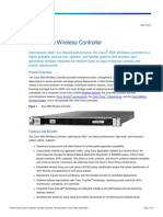Cisco 5520 Wireless Controller Data Sheet