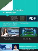 Solution for Emission Print