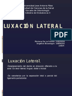 Luxación Lateral 2