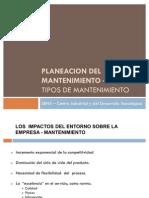 EL MANTENIMIENTO - TIPOS