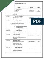 RANCANGAN PROGRAM MINGGU TRANSISI TAHUN 1.doc
