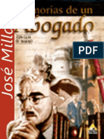 Jose Milla y Vidaurre - Memorias de Un Abogado