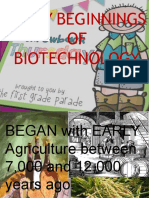 Powerpoint Biotechnology Report