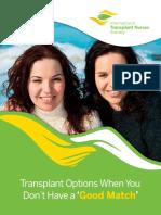 End Stage Kidney Disease Transplants
