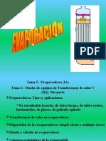 Evaporadores Parte I 2013 (1)