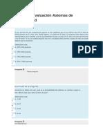 Unidad 1 Evaluación Axiomas de Probabilidad