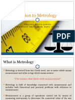 1. Introduction to Metrology