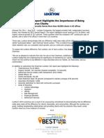 2015 lockton annual report release