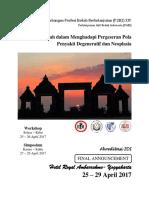 Final Announcement p2b2 Xiv Pabi Jogja 2017