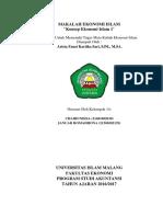 Makalah Ekonomi Islam (Konsep Ekonomi Islam)