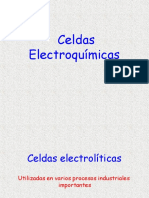 Celdas electrolíticas