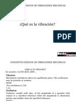 Vibraciones Mecanicas Conceptos De Vibracion