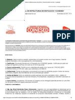 """Congreso Internacional de Estructuras de Edificación """"Coinesed"""""""