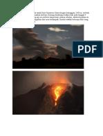 Gunung sinabung terletak di tanah Karo Sumatera Utara dengan ketinggian 2460 m.doc