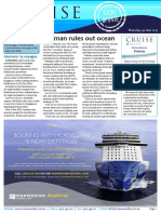 Cruise Weekly for Thu 30 Mar 2017 - Tollman rules out ocean cruising, Azamara 2019 voyages, Aussies test out Joie de Vivre, river cruise report canned, and more