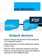 Fit Output Devices Ppt...