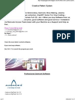 Creative Pattern System Cad Design Programs | X86
