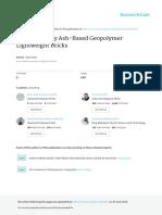 Geopolymer Journal 1
