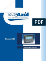 Mentor EI65 Operator's Manual Spanish- Skyazul Website Procedimiento de Programar (1)