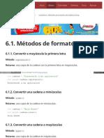 6.1. Métodos de Formato
