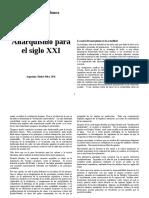 03 - Etapa I - Paso 2 - Errandonea, Alfredo - Un Anarquismo Para El Siglo XXI
