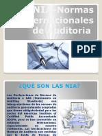 NIA Normas Internacionales de Auditoria.17