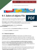 9.1. Sobre El Objeto File