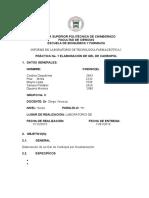 1. Informe Elaboracion de Gel de Carbapol