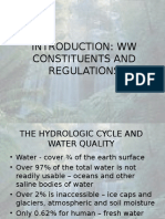 Physical, Chemical and Biological Characteristics of Wastewater