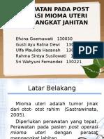 Perawatan Pada Post Operasi Mioma Uteri