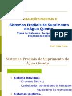 Apostila 2- Água Quente - Sistema e Componentes e Dimensionamento-final [Autoguardado]
