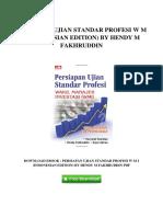 [N392.eBook] eBook Download Persiapan Ujian Standar Profesi W M I Indonesian Edition by Hendy M Fakhruddin