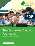 Schneider Electric Foundation Brochure