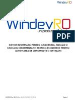 Manual WindevRO 6.8