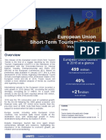 European Union Short-Term Tourism Trends