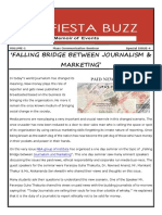 Falling Bridge Between Journalism & Marketing