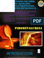 Lisbeth Ofelia Huaman Quispe Pirometalurgica