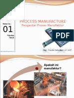Materi 1 Proses Manufaktur