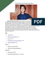 Biografi Iqbaal Dhiafakhri Ramadhan