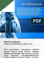 Manajemen Stratejik - Visi & Misi Perusahaan