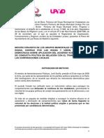 Moción ayuntamiento Las Rozas Ciudadanos - Podemos - UPyD