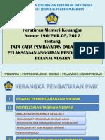 PMK 190 Tahun 2012