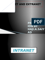 Intranet and Extranet
